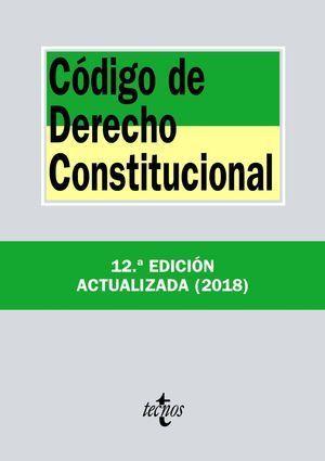 CÓDIGO DE DERECHO CONSTITUCIONAL 2018 TECNOS
