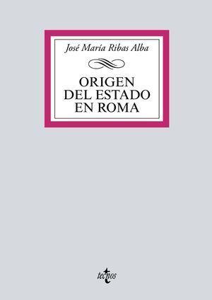ORIGEN DEL ESTADO EN ROMA