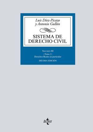 SISTEMA DE DERECHO CIVIL 2019 TECNOS