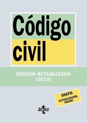 CÓDIGO CIVIL 2019 TECNOS