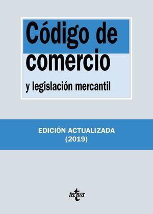 CÓDIGO DE COMERCIO Y LEGISLACIÓN MERCANTIL 2019 TECNOS