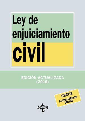 LEY DE ENJUICIAMIENTO CIVIL 2019 TECNOS