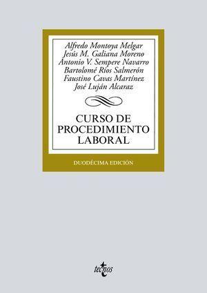 CURSO DE PROCEDIMIENTO LABORAL TECNOS 2019