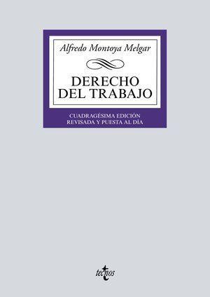 DERECHO DEL TRABAJO TECNOS 2019