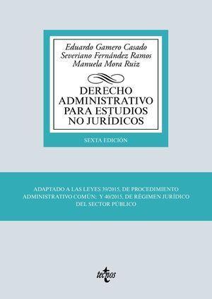 DERECHO ADMINISTRATIVO PARA ESTUDIOS NO JURÍDICOS TECNOS 2019