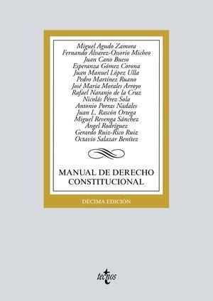 MANUAL DE DERECHO CONSTITUCIONAL 2019 TECNOS