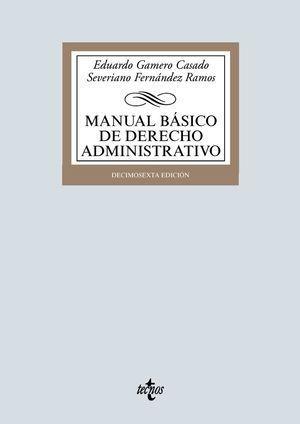 MANUAL BÁSICO DE DERECHO ADMINISTRATIVO TECNOS 2019 ED16