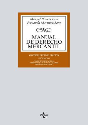 MANUAL DE DERECHO MERCANTIL