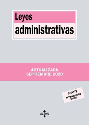 LEYES ADMINISTRATIVAS 2020
