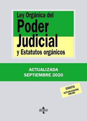 LEY ORGÁNICA DEL PODER JUDICIAL 2020