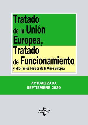 TRATADO DE LA UNIÓN EUROPEA, TRATADO DE FUNCIONAMIENTO 2020