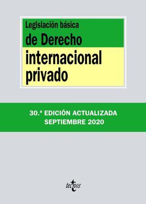 LEGISLACIÓN BÁSICA DE DERECHO INTERNACIONAL PRIVADO 2020