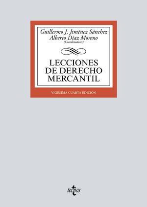 LECCIONES DE DERECHO MERCANTIL 2021