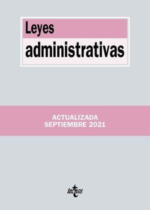 LEYES ADMINISTRATIVAS TECNOS 2021