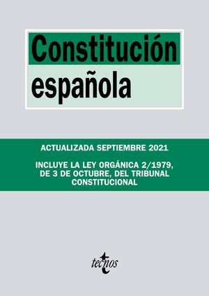CONSTITUCIÓN ESPAÑOLA 2021 TECNOS