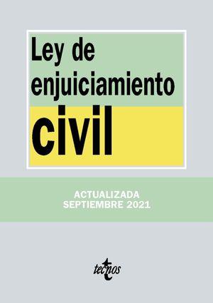 LEY DE ENJUICIAMIENTO CIVIL 2021 TECNOS