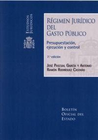 REGIMEN JURIDICO DEL GASTO PUBLICO 2018