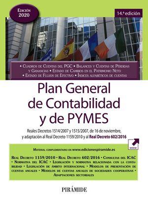 PLAN GENERAL DE CONTABILIDAD Y DE PYMES 2020