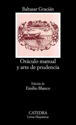 ORACULO MANUAL ARTE PRUDENCIA