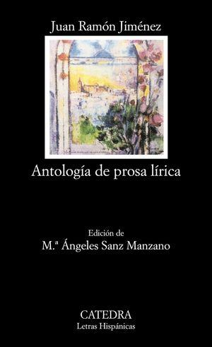 ANTOLOGIA DE PROSA LIRICA