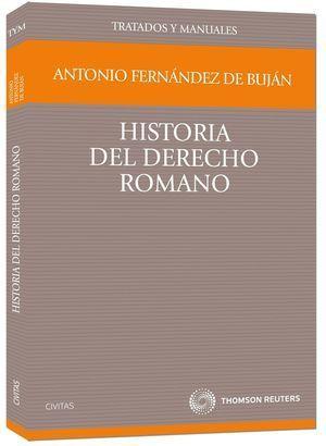 HISTORIA DEL DERECHO ROMANO  TRATADOS Y MANUALES