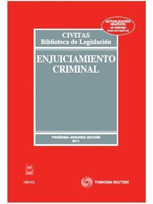 ENJUICIAMIENTO CRIMINAL, 32ª ED