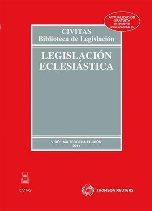 LEGISLACION ECLESIASTICA. 23ª ED.