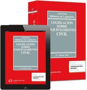 LEGISLACIÓN SOBRE ENJUICIAMIENTO CIVIL 2014