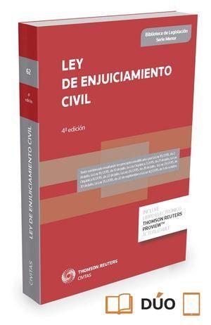 LEY DE ENJUICIAMIENTO CIVIL 2015