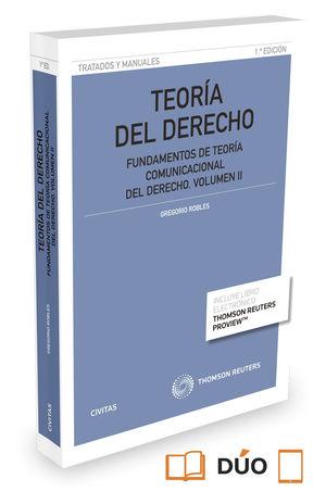 TEORÍA DEL DERECHO, VOL. II. 2015