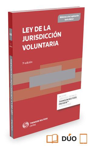 LEY DE LA JURISDICCIÓN VOLUNTARIA EXPRESS (DÚO)