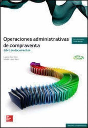 CUTX OPERACIONES ADMINISTRATIVAS DE COMPRAVENTA. GM. LIBRO DOCUMENTOS. 2018