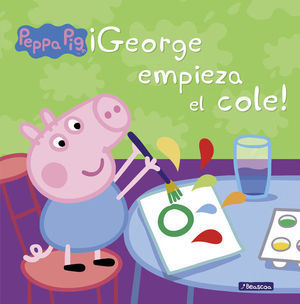 ¡GEORGE EMPIEZA EL COLE! (PEPPA PIG)