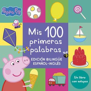 MIS 100 PRIMERAS PALABRAS (PEPPA PIG. PEQUEÑAS MANITAS)