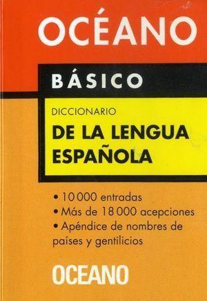 BÁSICO DICCIONARIO DE LA LENGUA ESPAÑOLA