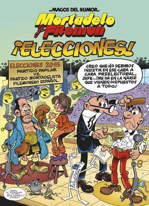 MAGOS DEL HUMOR 179 MORTADELO Y FILEMON ELECCIONES! 2015