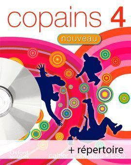 4ESO COPAINS NOUVEAU CUADERNO+MULTIROM+REPERTOIRE 2008 OXFORD