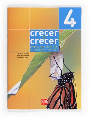 4º EP CRECER Y CRECER PROGRAMA PARA DESARROLLAR LA INT EMOCIONAL 12