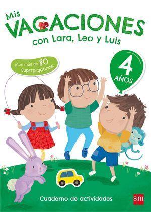 2EI MIS VACACIONES CON LARA, LEO Y LUIS 4 AÑOS 2017 CESMA
