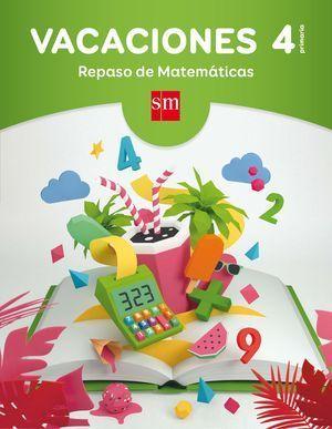 4EP VACACIONES REPASO MATEMATICAS 2017 CESMA