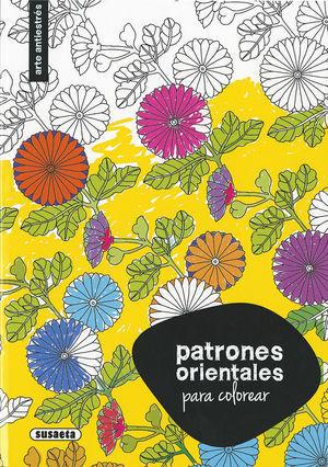 PATRONES ORIENTALES P/COLOREAR