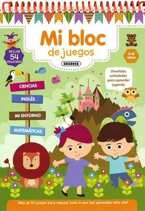 MI BLOC DE JUEGOS 5-6 AÑOS