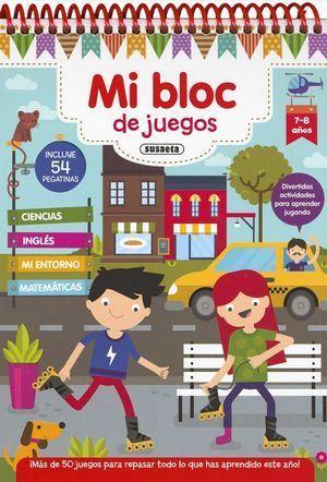 MI BLOC DE JUEGOS 7-8 AÑOS