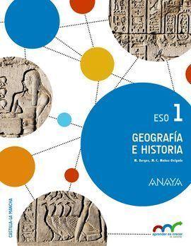 1ESO GEOGRAFÍA E HISTORIA 1. 2015 ANAYA
