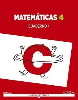 4EP MATEMÁTICAS CUADERNO I 2015 ANAYA