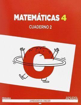4EP MATEMÁTICAS CUADERNO II 2015 ANAYA