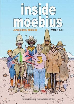 INSIDE MOEBIUS VOL.3