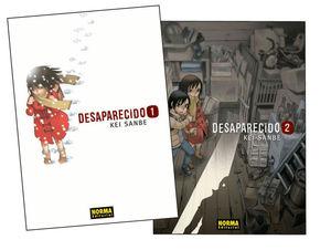 PACK INICIACION DESAPARECIDO 01+02