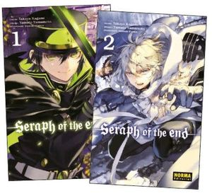 PACK DE INICIACIÓN SERAPH OF THE END 1 + 2