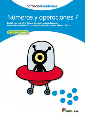 CUADERNO NUMEROS Y OPERACIONES 7 SANTILLANA